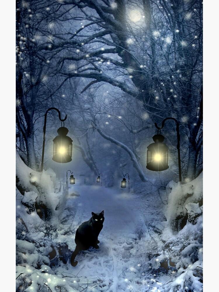Winter Twilight  by AngelaBarnett