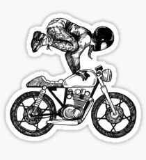 MotoYogi - Women Who Ride Sticker