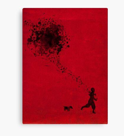 the pollock's way Canvas Print