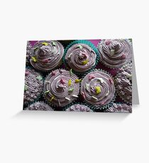 Awesome cup cakes Greeting Card