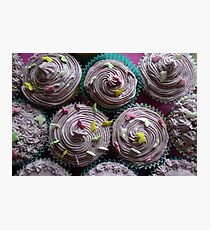 Awesome cup cakes Photographic Print