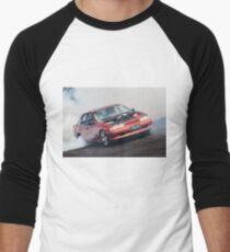 XBACON Burnout Men's Baseball ¾ T-Shirt