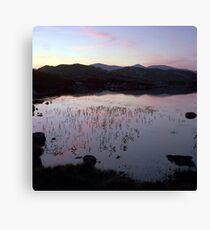 Drinishader sunset #1 Canvas Print