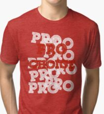Pro Choice (Abortion rights) Tri-blend T-Shirt
