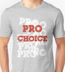 Pro Choice (Abortion rights) Slim Fit T-Shirt