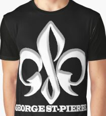 Georges St-Pierre Mixed Martial Arts GSP MMA UFC Champions Graphic T-Shirt