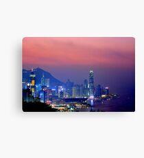 Hong Kong City #6 Canvas Print