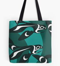 Killer Whale Pod Tote Bag