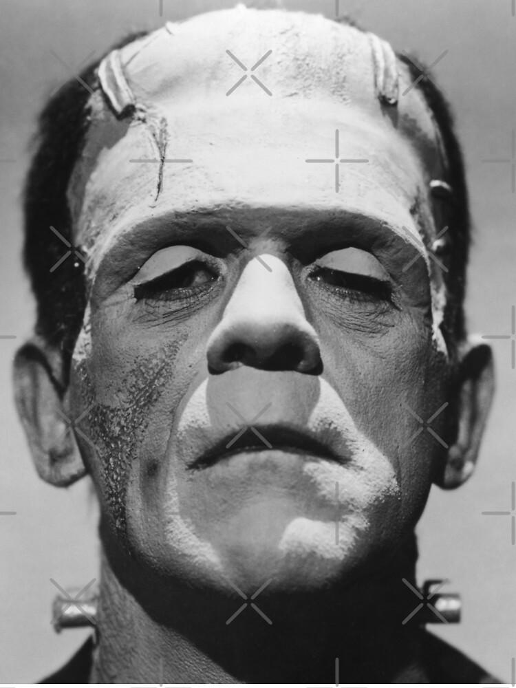 Frankenstein's Monster Karloff by Ximoc