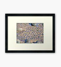 WESTWARD HO! beach patterns Framed Print