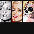 Marilyn Triptych by Ken Eccles