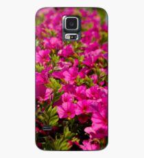 Garden flower box of petunias Case/Skin for Samsung Galaxy
