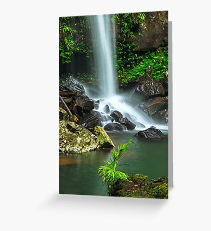 Droplets of Life Greeting Card