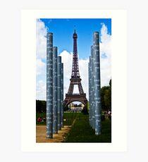Tour Eiffel - Paris Art Print