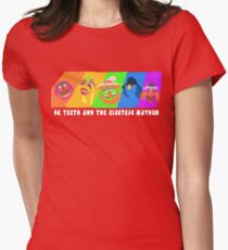 Dr Teeth and the Electric Mayhem Rainbow (The Muppets) Women's Fitted T-Shirt
