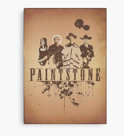 Paintstone Canvas Print