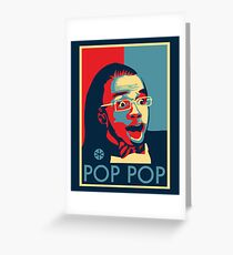 POP POP Greeting Card