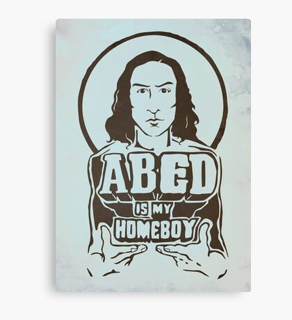 Abed Is My Homeboy Canvas Print