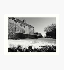 Dorset Winter Art Print