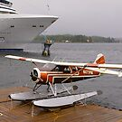 By sea and air, Ketchikan, Alaska. by johnrf
