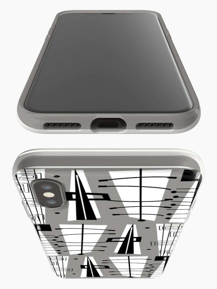 Alternative Ansicht von Mid-Century Atomzeit iPhone-Hülle & Cover