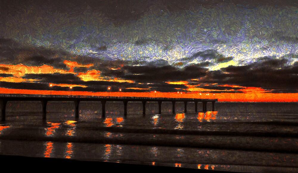 A Van Gogh Dawn  by PictureNZ