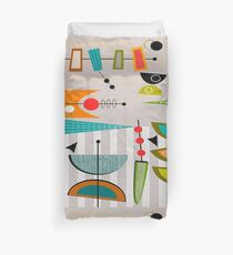 Mid-century Modern Abstract #55 Duvet Cover