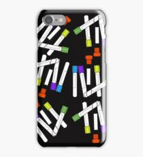 Lab Blood Collection Tubes iPhone Case/Skin