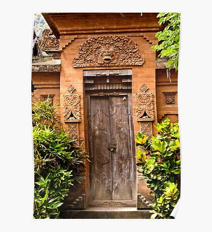 The door - Bali Poster