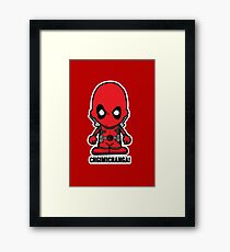 Lil Chimichanga Framed Print