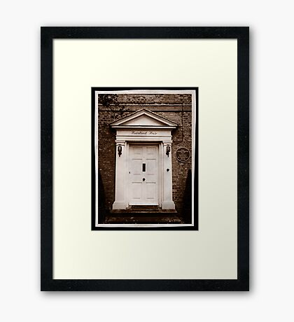 Winterbrook House - Home of Dame Agatha Christie Framed Print
