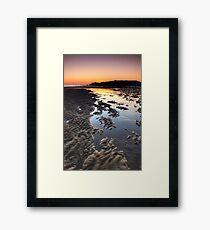 South Shields Beach Framed Print