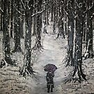 winter woods by Tony Bishop