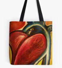 The heart of nursing Tote Bag