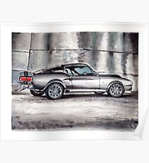 Eleanor - Shelby GT500 Poster