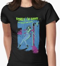 Zombie Pinup Girl Women's Fitted T-Shirt