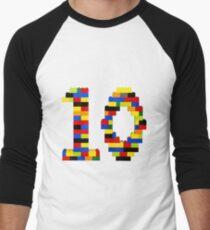 10 t-shirt Men's Baseball ¾ T-Shirt