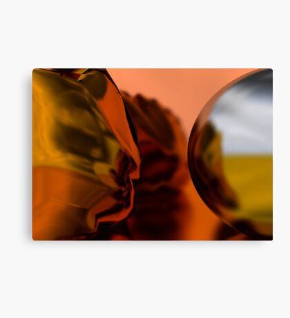 Silver // Gold Canvas Print