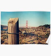 Baker Beach view Poster