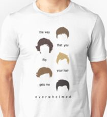 the way that you flip your hair  - vertical Unisex T-Shirt