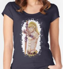 The Legend  of Zelda - The knight in the Wild Women's Fitted Scoop T-Shirt