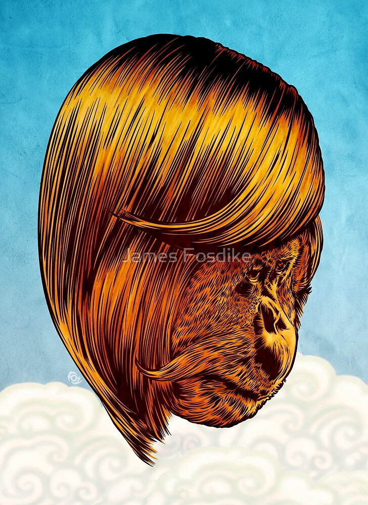 Orangutan 2015 by James Fosdike