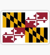 Maryland USA State Flag Baltimore Annapolis Duvet Cover T-Shirt Sticker Sticker