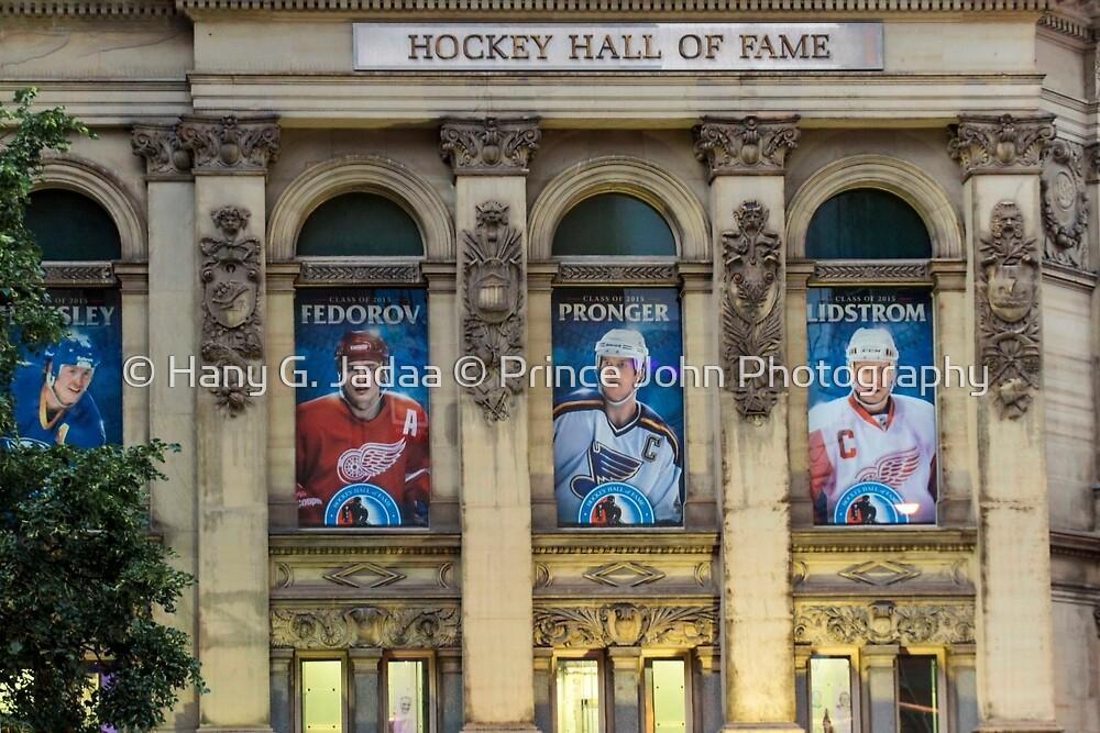 Scenes From Downtown Toronto - Hockey Hall Of Fame ©  by © Hany G. Jadaa © Prince John Photography