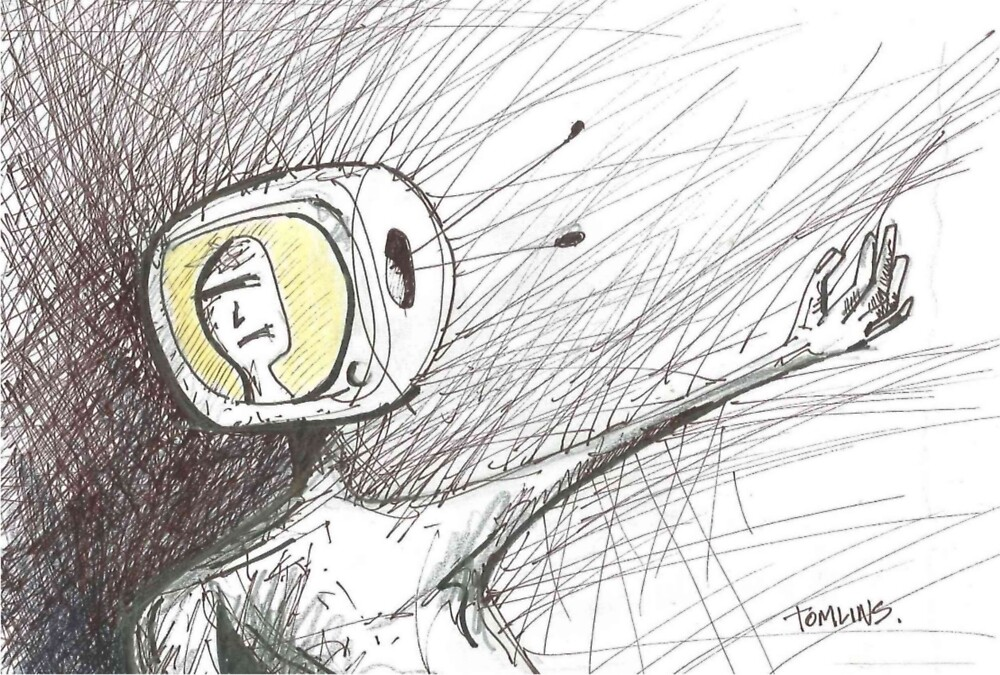 TV Head Rage by Andrew Tomlins