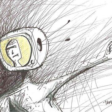 TV Head Rage by atom-lino