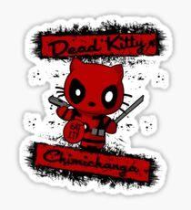 Dead Kitty Sticker