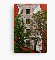 Scenes From Downtown Toronto - A Building Facade © Canvas Print