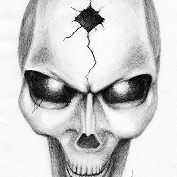 Skull by KerovinBlack