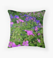Soft Colours Throw Pillow